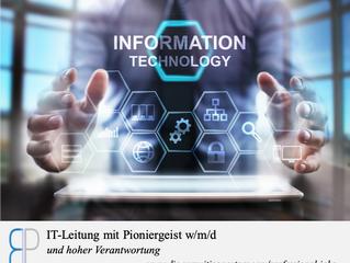 IT-Leiter/in mit Pioniergeist und hoher Verantwortung