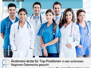 Ärztinnen/- ärzte  - für Top-Positionen gesucht