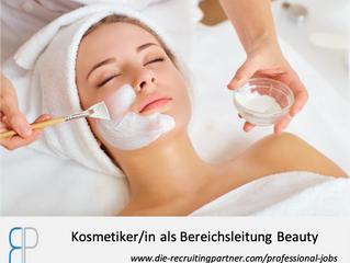 Kosmetiker/in als Bereichsleitung Beauty