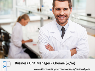 Business Unit Manager - Chemie w/m