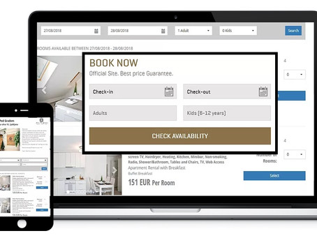 Prenovljen web booking engine - nove lastnosti, nov izgled in odzivni dizajn!