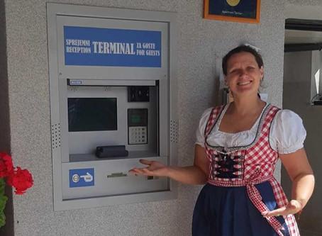 Nova povezava: Hotelinco s sprejemnim terminalom za goste že v rabi