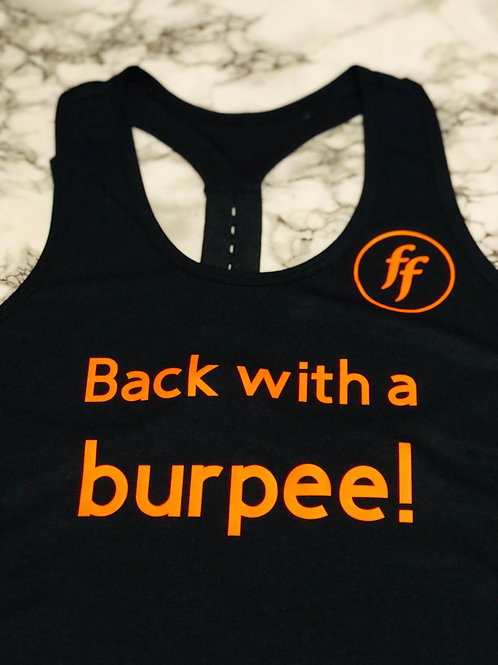 FF Vest - Back with a burpee!