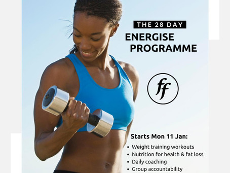 Energise #2 - Final Call + + + New Class Added