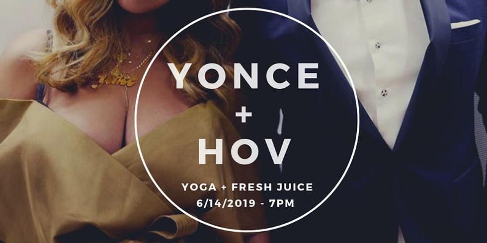Yonce + Hov Yoga Night