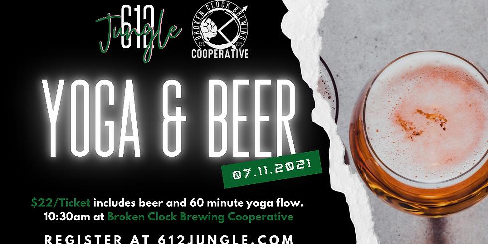 Yoga + a Beer (or Bucha) - July 11th