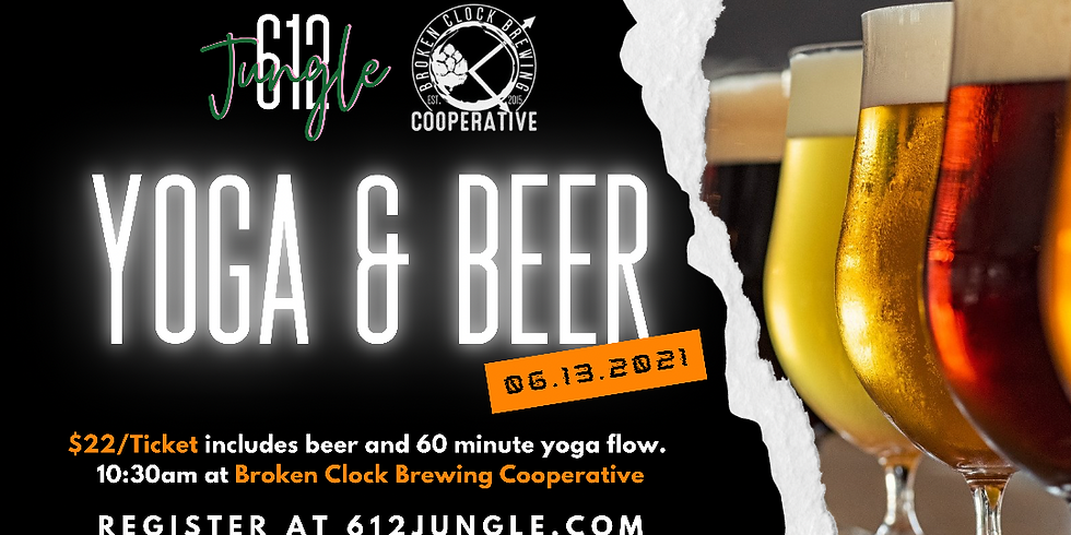 Yoga + a Beer (or Bucha) - June 13