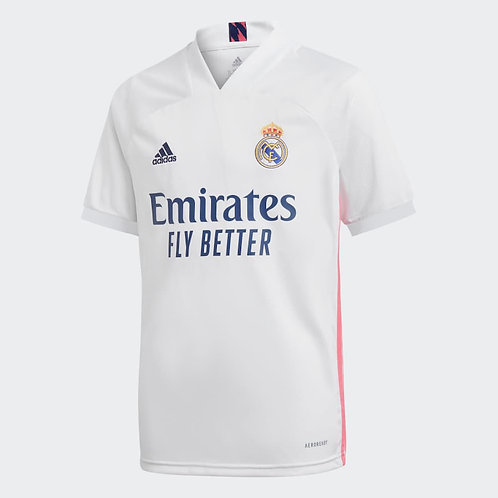 ADIDAS Maillot Real Madrid Home Junior 2020-2021 (FQ7486)