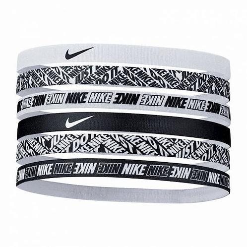 NIKE Bandeaux Printed Hairbands - Lot de 6 (N0002545176)