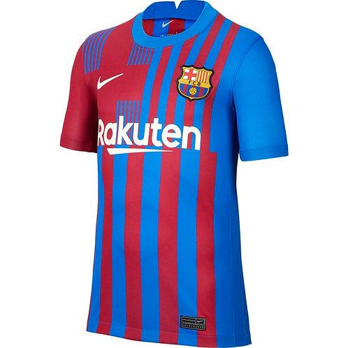 NIKE Maillot Barcelone FC Home Junior 2021-2022 (CV8222-428)