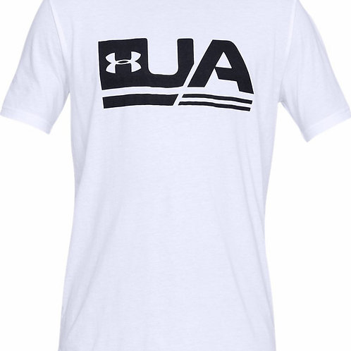 UNDER ARMOUR T-Shirt Sportstyle Drop Hem (1329617-100)