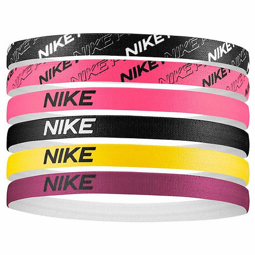NIKE Bandeaux Printed Hairbands - Lot de 6 (N0002545069)