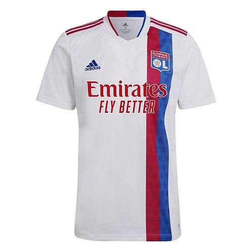 ADIDAS Maillot Olympique Lyonnais Home 2021-2022 (EY1195)