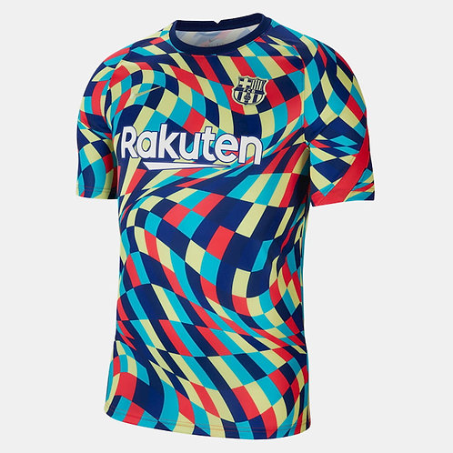 NIKE Maillot Barcelone FC PréMatch 2020-2021 (CW7750-492)