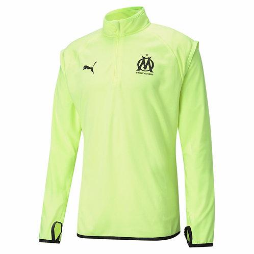 PUMA Sweat Olympique de Marseille Training WarmUp 2020-2021 (758649-04)