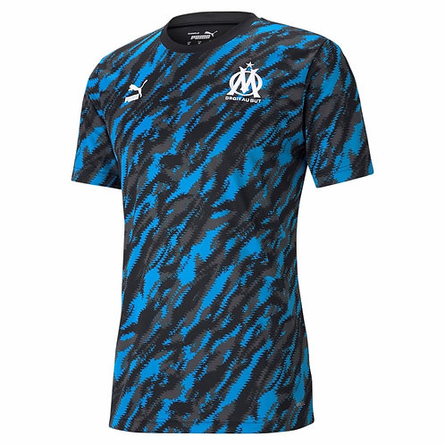 PUMA T-Shirt Olympique de Marseille Iconic Graphic 2020-2021 (758657-02)