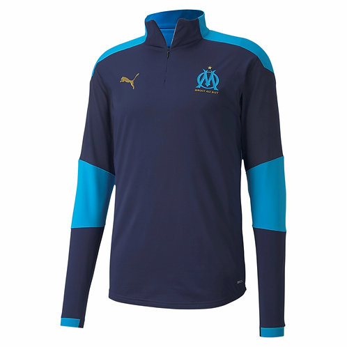 PUMA Sweat Olympique de Marseille Training 2020-2021 (757687-03)