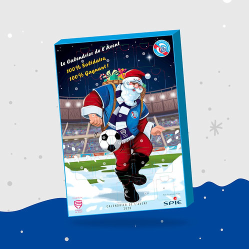 Calendrier Racing Club Strasbourg Alsace  2020