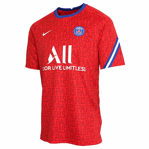 NIKE Maillot Paris Saint-Germain PréMatch 2020-2021 (CD5816-658)