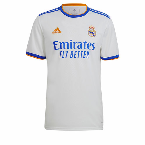 ADIDAS Maillot Real Madrid FC Home 2021-2022 (GQ1359)