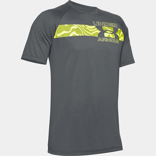 UNDER ARMOUR T-Shirt Tech 2.0 Graffic (1352052-012)
