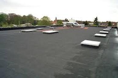 SSIB : étanchéité - photos toiture finie