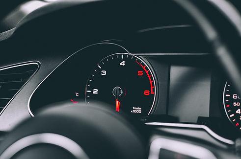 Tableau de bord de voiture