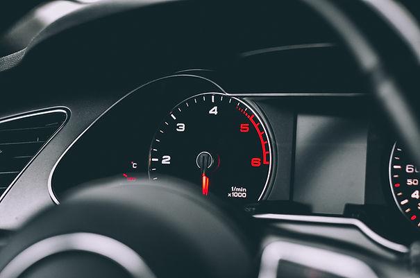 Tablero de instrumentos del coche