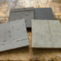 Samples of faux concrete
