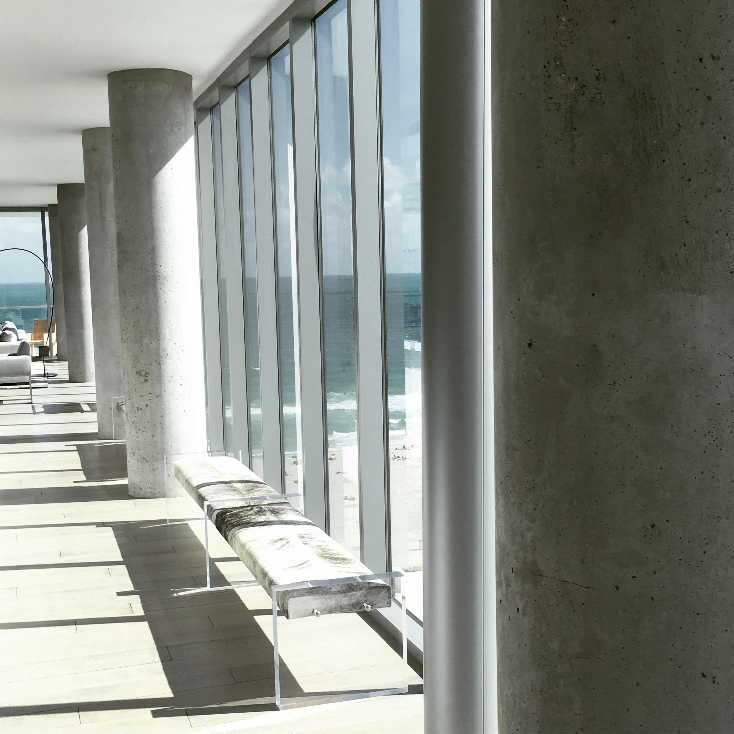 "Faux ""Poured Concrete"", Miami"