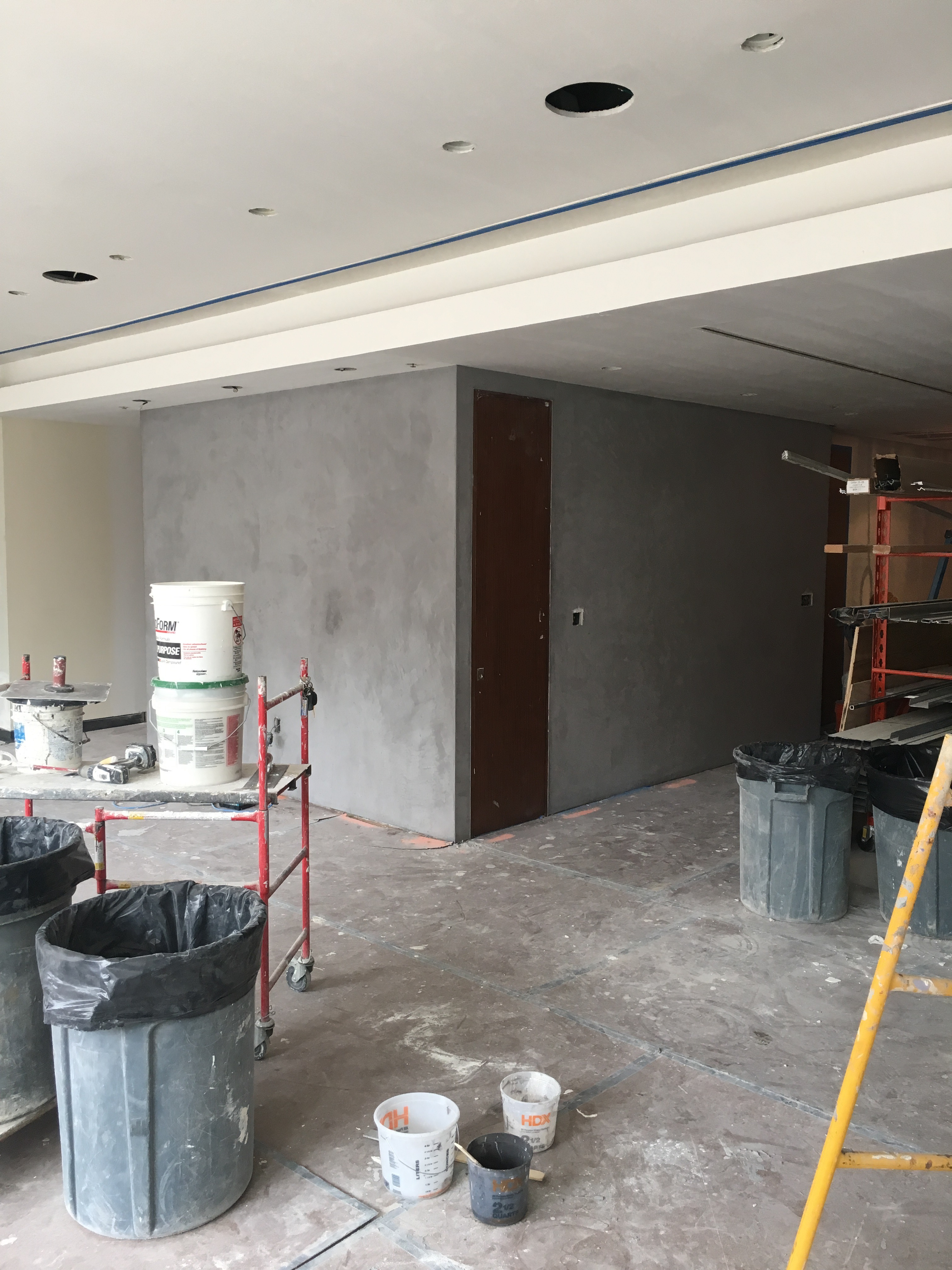 Concrete residential project