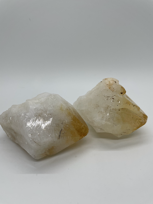 Large Rough Citrine Cluster