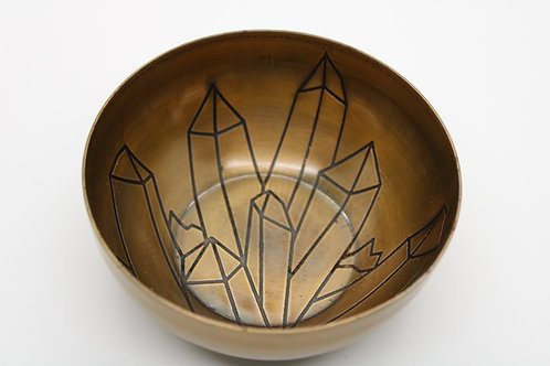 Kick A*s In Brass Offering Bowl