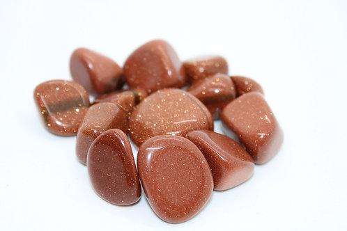 Goldstone Pocket Stone
