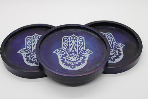Soapstone Hamsa Dish / Burner