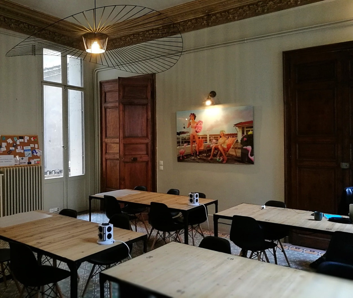 coworking en centre montpellier design fun cool