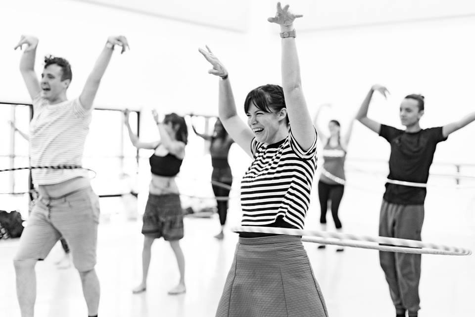 Hula Hoop Dance Class
