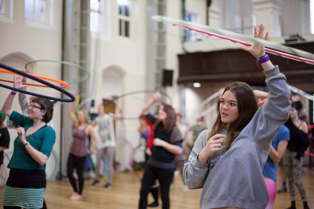 Beginner Hula Hoop Course **With Hoop**