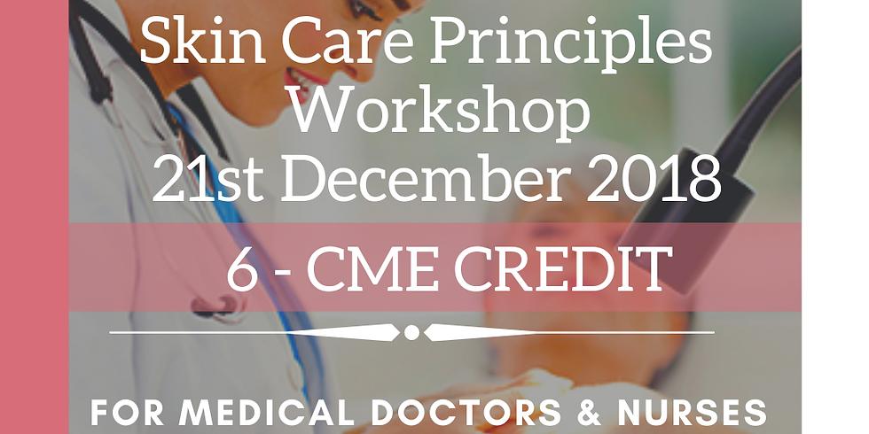 Skin Care Principles Workshop 6-CME Credit