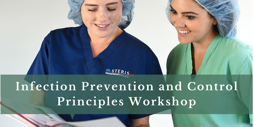 Infection Prevention and Control Principles 10-CME Online Event