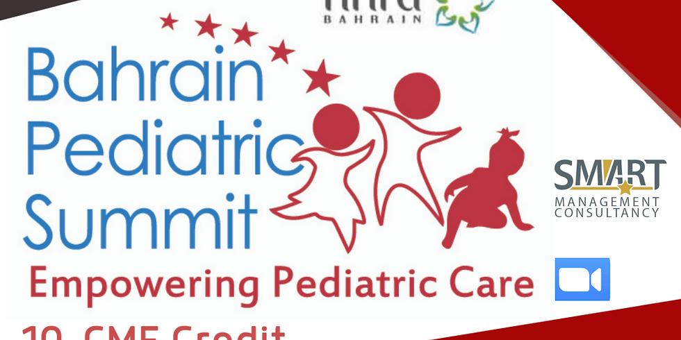 2nd Bahrain Pediatric Summit 10-CME Credit
