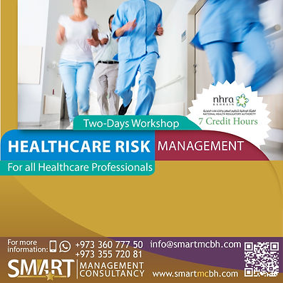 Healthcare Risk Management Workshop with CME Credit by NHRA in Bahrain