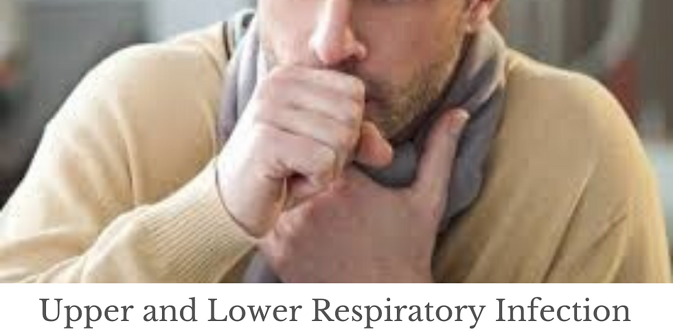 Upper and Lower Respiratory Infection Review and Updates Lecture