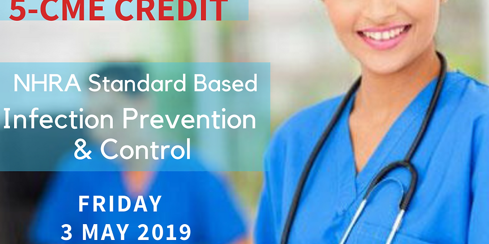 NHRA Standard Based Infection Prevention Control 5-CME Credit