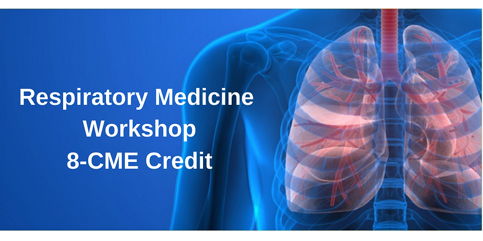 Respiratory Medicine Review and Update 8-CME Credit