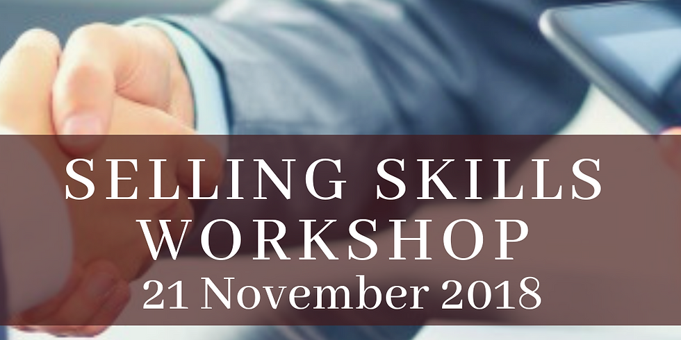 Selling Skills Workshop