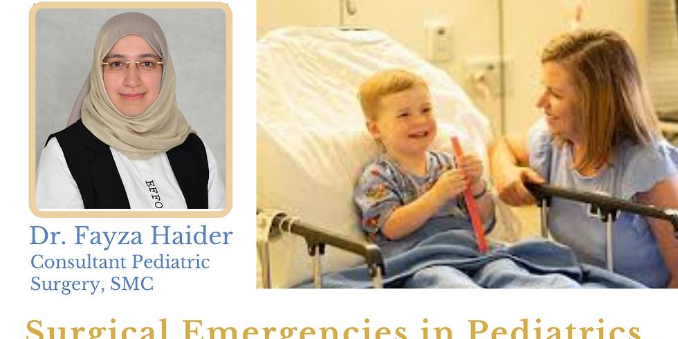 Surgical Emergencies in Pediatrics: NHRA CME-Credit eLecture