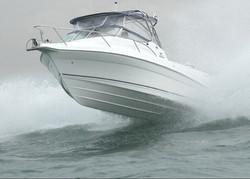 Coastal Bimini coming off wave