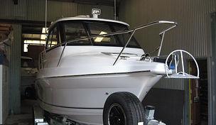 Fishing trips, fibreglass fishing boat, Theodore 720 open hardtop