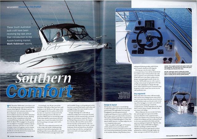 Article Power Boat Magazine - Theodore 7